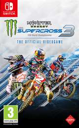 Milestone Switch Monster Energy Supercross - The Official Videogame 3 EU